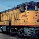 Union Pacific U50 #47 locomotive postcard train railroad a68