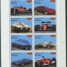 Ferrari miniature sheet of 8 stamps mnh 2007 Maldive Islands #2940