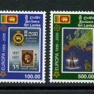 Europa 50 years mnh set 2 stamps 2006 Sri Lanka #1539-40