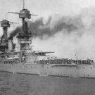 USS California BB-44 US Navy Battleship Postcard Unposted