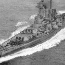 USS Washingon BB-56 US Navy Battleship Postcard Unposted