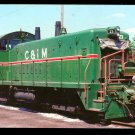 Chicago & Illinois Midland SW1200 Switcher #23 postcard locomotive railroad b17
