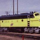 Chicago & Northwestern F7 #400 postcard railroad b19