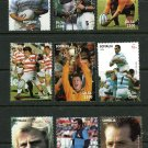 Rugby World Cup MNH Set of 9 Stamps 1999 Somalia Nelson Mandela