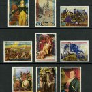 American Bicentennial MNH Set of 9 Stamps 1975 Equatorial Guinea #7562-70