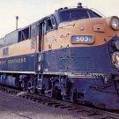Great Northern E7 locomotive #503 train postcard railroad b37