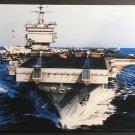 USS Enterprise CVN-65 Postcard US Navy Aircraft Carrier Big E