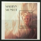Marilyn Monroe mnh Souvenir Sheet Tuva Republic