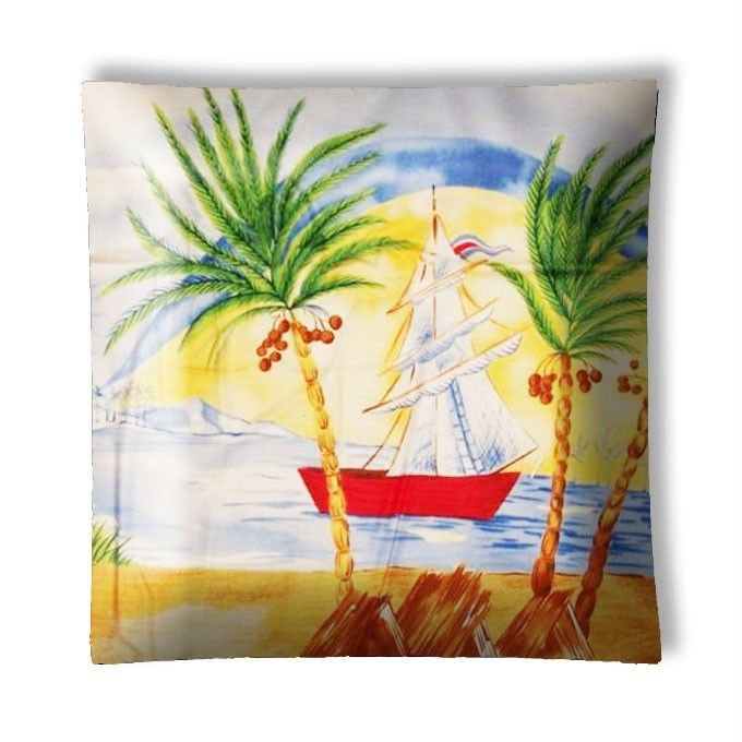 Tropical Island Sailboats #4 Ceiling Light / Lamp