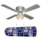 Star Wars BW Ceiling Fan w/Light Kit or Blades Only or Ceiling Lamp