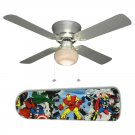 Avengers Ceiling Fan w/Light Kit or Blades Only or Ceiling Lamp