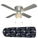 Seattle Seahawks Ceiling Fan w/Light Kit or Blades Only or Ceiling Lamp