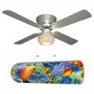 Tropical Fish Ceiling Fan w/Light Kit or Blades Only or Ceiling Lamp
