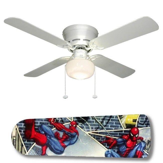 Spiderman Superhero Ceiling Fan and/or Lamp