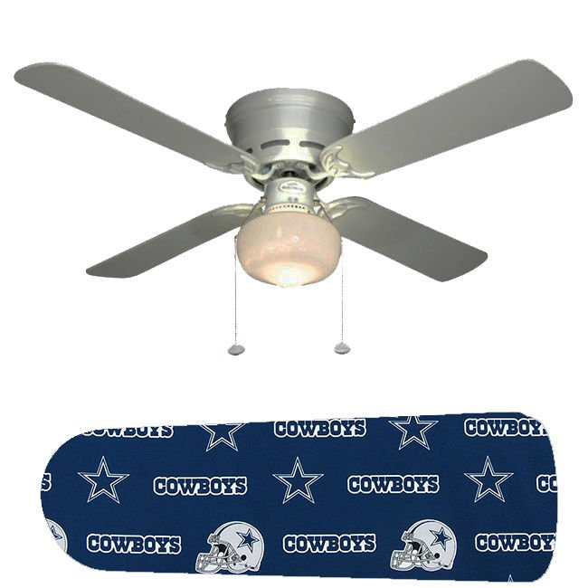 Dallas Cowboys Helmet Ceiling Fan w/Light Kit or Blades Only or Ceiling Lamp