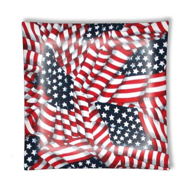 American Flag Patriotic Ceiling Lamp or Ceiling Fan w/Light Kit or Blades Only