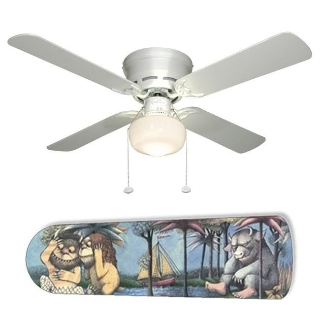 Where The Wild Things Are Ceiling Fan w/Light Kit or Blades Only