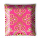 Gypsy Bandana Pink Green Paisley Ceiling Light / Lamp