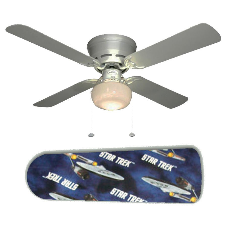 Star Trek Ceiling Fan w/Light Kit or Blades Only or Ceiling Lamp
