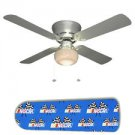 NASCAR Race Car Ceiling Fan w/Light Kit or Blades Only or Ceiling Lamp