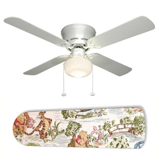 Winnie the Pooh Ceiling Fan w/Light Kit or Blades Only or Ceiling Lamp