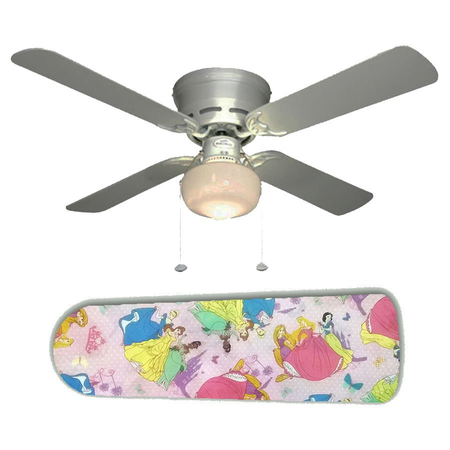 Disney Princess Ceiling Fan w/Light Kit or Blades Only or Ceiling Lamp