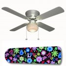 Girls Peace and Love Ceiling Fan w/light kit or blades only or ceiling lamp
