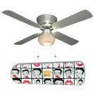 Betty Boop White Ceiling Fan w/Light Kit or Blades Only or Ceiling Lamp