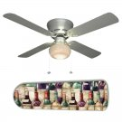 Divine Wine Fan w/light kit or blades only or ceiling lamp
