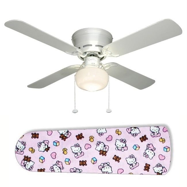 Hello Kitty Baby Ceiling Fan w/light kit or blades only or ceiling lamp