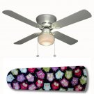 Owl Fest Ceiling Fan w/light or blades only or ceiling lamp
