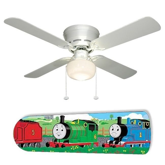Thomas the Train Ceiling Fan w/Light Kit or Blades Only