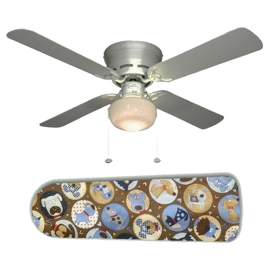 Pooches Puppy Dog Ceiling Fan w/light kit or blades only or ceiling lamp