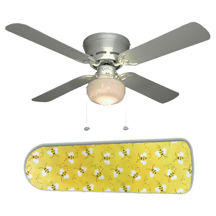 Sweet Yellow Bumblebees Bees Ceiling Fan w/light or blades only or ceiling lamp