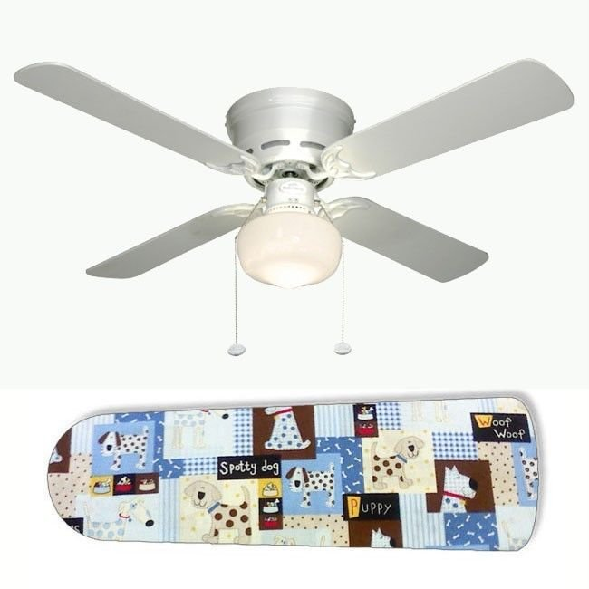 Spotty Dog Puppy Ceiling Fan w/light or blades only or ceiling lamp