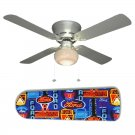 Neon Ford Ceiling Fan w/Light Kit or Blades Only or Ceiling Lamp