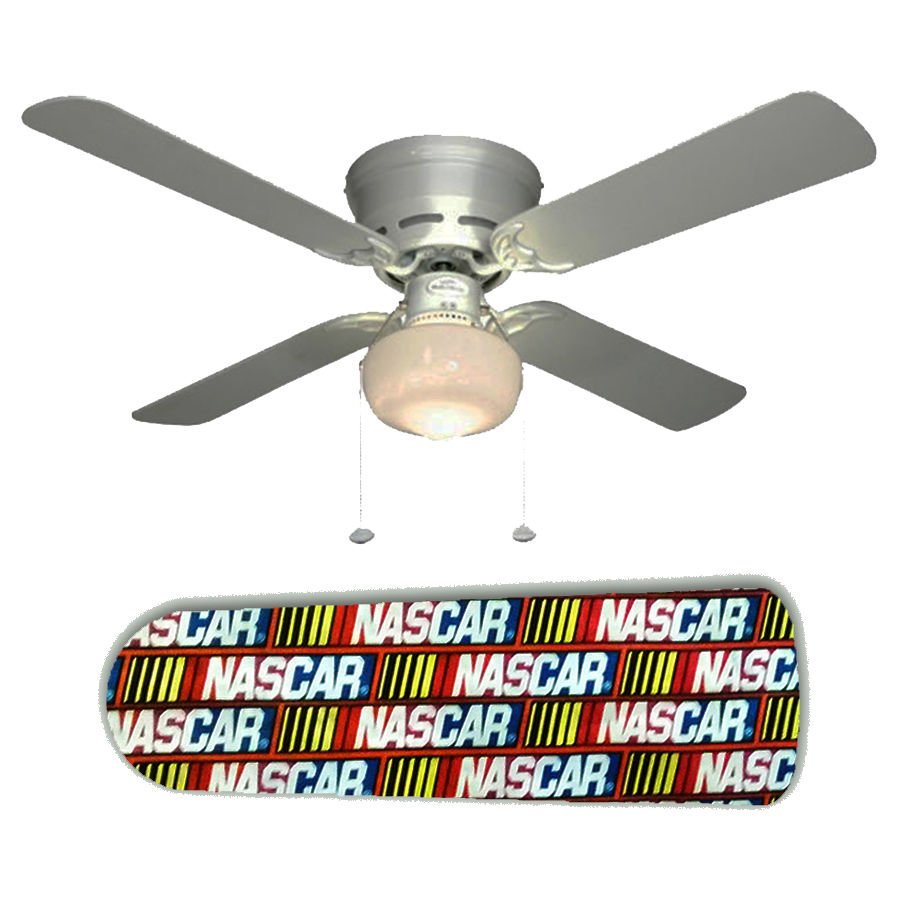 NASCAR II Ceiling Fan w/Light Kit or Blades Only or Ceiling Lamp