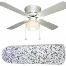 Music to My Ears Notes Ceiling Fan w/light kit or blades only or ceiling lamp