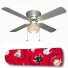 Tea Cup of Kindness Ceiling Fan w/light kit or blades only or ceiling lamp