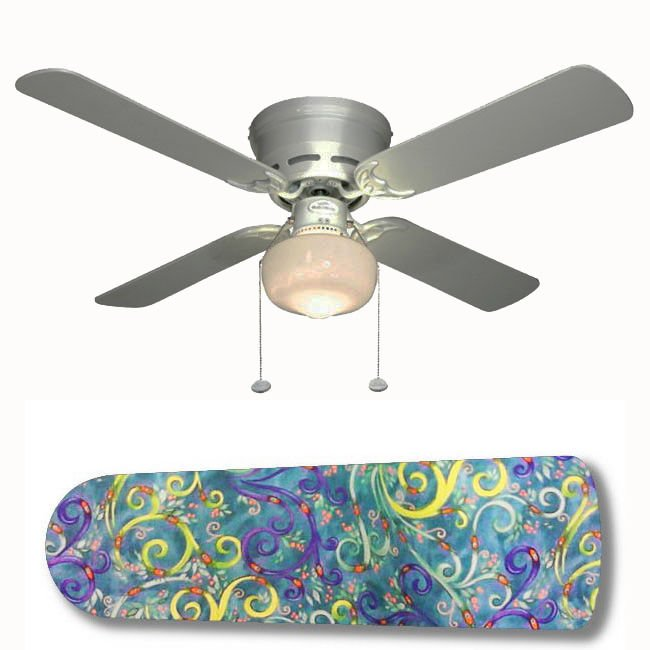 Ariel Underwater Fantasy Ceiling Fan w/Light or Blades Only or Ceiling Lamp