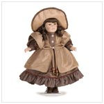 Porcelain Doll with Hat   37423