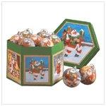 1 Dz. Santa Ball Ornaments  35764