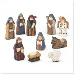 Resin Nativity Set  37558