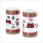 Snowman Salt and Pepper Shakers   37718