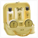 Pineapple Bath Set in Handbag   38067