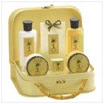 Pineapple Bath Set in Handbag   38067