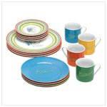 Dinner Set - Picasso Lines - 16 pc.  38313