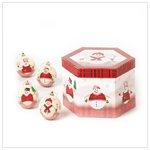 Snowman Ball Ornaments  37653