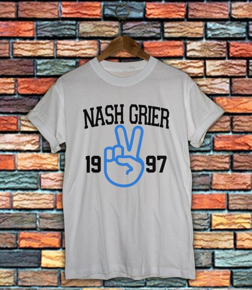 Nash Grier Shirt Women And Men Magcon Boys Shirt NG03