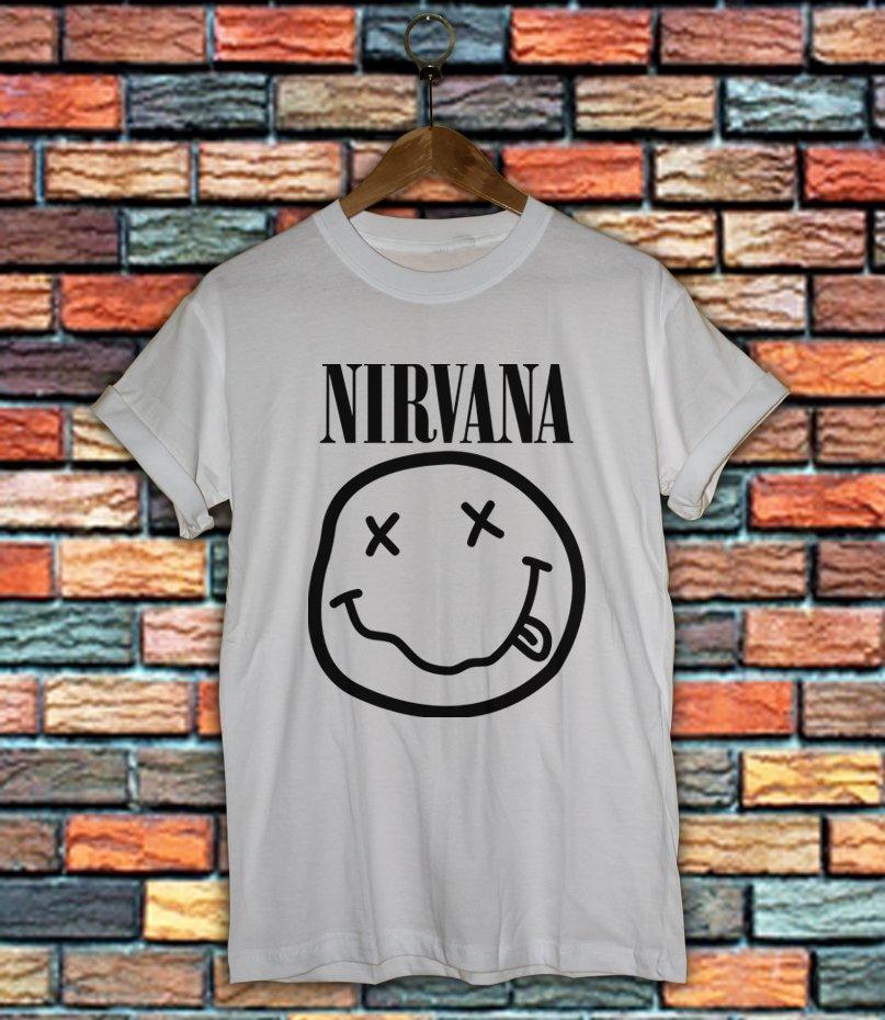Nirvana Shirt Women And Men Kurt Cobain Shirt NV01